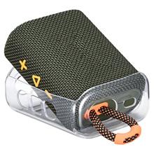 2021 nowy TPU przenośne skórzane etui ochronne koc podróżny pokrowiec Audio Case dla JBL GO 3 GO3 głośniki z Bluetooth tanie tanio CN (pochodzenie) Obudowa głośników Transparent Speaker Protective Case Termoplastyczny poliuretan + tworzywo sztuczne