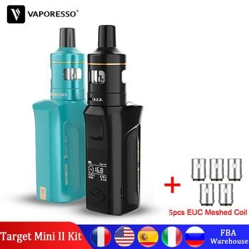 Vaporesso Target Mini 2 Vape Kit with built in 2000mAh Battery 50W Box Mod VM Tank 2ml EUC Meshed Coil Electronic Cigarette Kit цена 2017