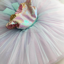 Sequins Dress Baby-Girls Flower Party Kids Children AG0111 Hot-Selling High-Quality