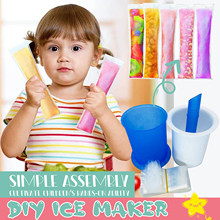 DIY Ice Maker Reusable Easy Release Mould Makers Ice Maker Home Ice Cream DIY Mold Ice Cube Maker Cream Mold For Ice Cream Tools