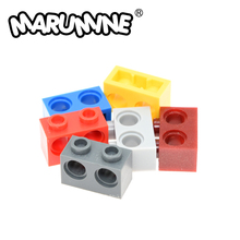 Marumine 1x2 with 2 Holes Technology Brick 32000 Classic Building Blocks Pieces Magic Robot Educational Toys for Starter Kids
