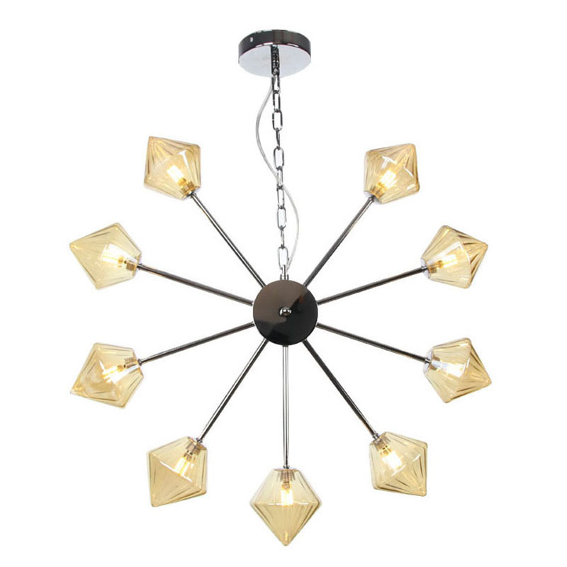 Nordic style unique aesthetic exhibition hall wing room aisle clothing store living room decoration Chandelier