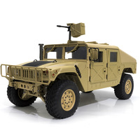 RC 30 KM/H High end Hummer Snow Meadow Mud Ground Off road Remote Control Vehicles Military Trucks 1:10 Simulation Car Model Toy