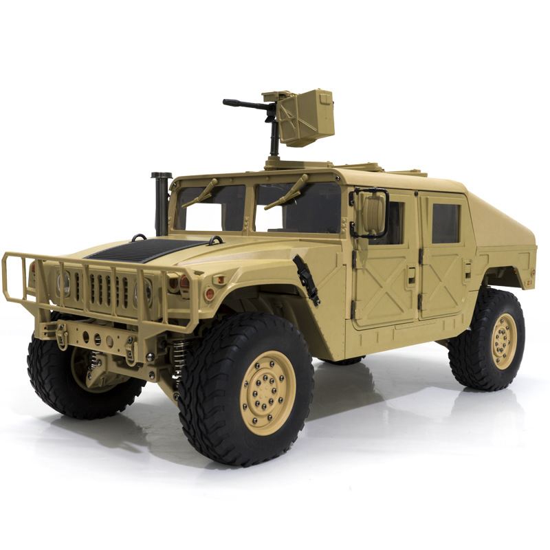 игрушки для мальчиков RC 30 KM/H  Hummer Snow  Mud Ground Off road Remote Control Vehicles Military Trucks 1:10  Car Model Toy-in RC Cars from Toys & Hobbies