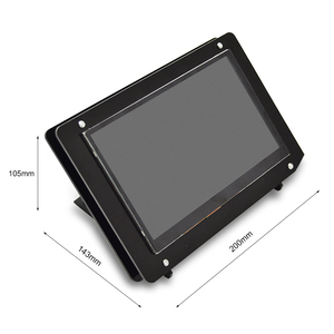 Image 4 - Raspberry Pi 7 Inch LCD Touch Screen Case high quantity black and white Screen Case ,only include the case