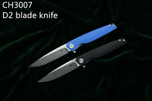 Image 2 - Coltello D2 CH 3007/3507 Flipper coltello Pieghevole Cuscinetto A Sfere G10 Maniglia di Campeggio/Caccia/Outdoor/Tasca/sopravvivenza lama di EDC