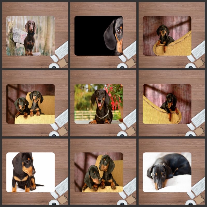 Mairuige Cute Dachshund Pet Mouse Pad 220X180mm Computer   Big Sale Cheapest Rubber Desk Keyboard