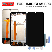 6.3 inch UMIDIGI A5 PRO LCD Display+Touch Screen Digitizer Assembly 100% Original New LCD+Touch Digitizer for A5 PRO+Tools