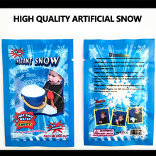 Flocos de neve artificiais magia instantânea neve em pó festival congelado festa suprimentos decorações de natal para casa casamento neve