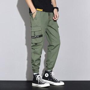 Брюки мужские весенне-летние трикотажные, спортивные штаны, свободные универсальные комбинезоны, Корейская версия