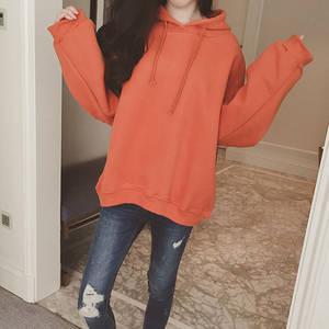 Women Korean Hip Hop Sweatshirt Hooded Pullover Solid Hoodie Long Sleeve Loose Tops