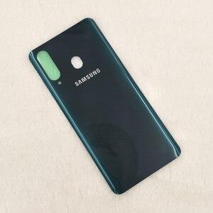 Image 5 - Originele Samsung Galaxy A8s 3Dglass Batterij Back Cover Deur Behuizing Vervanging Reparatie Bescherming Case Voor Samsung A8S SM G8870