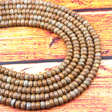 Wood Jade Natural Gem 4X6/5X8MM Abacus Bead Spacer Bead Wheel Bead Accessory For Jewelry Making Diy Bracelet Necklace