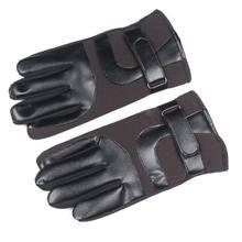 Теплые перчатки с пальцами мягкие бархатные лыжные ветрозащитные