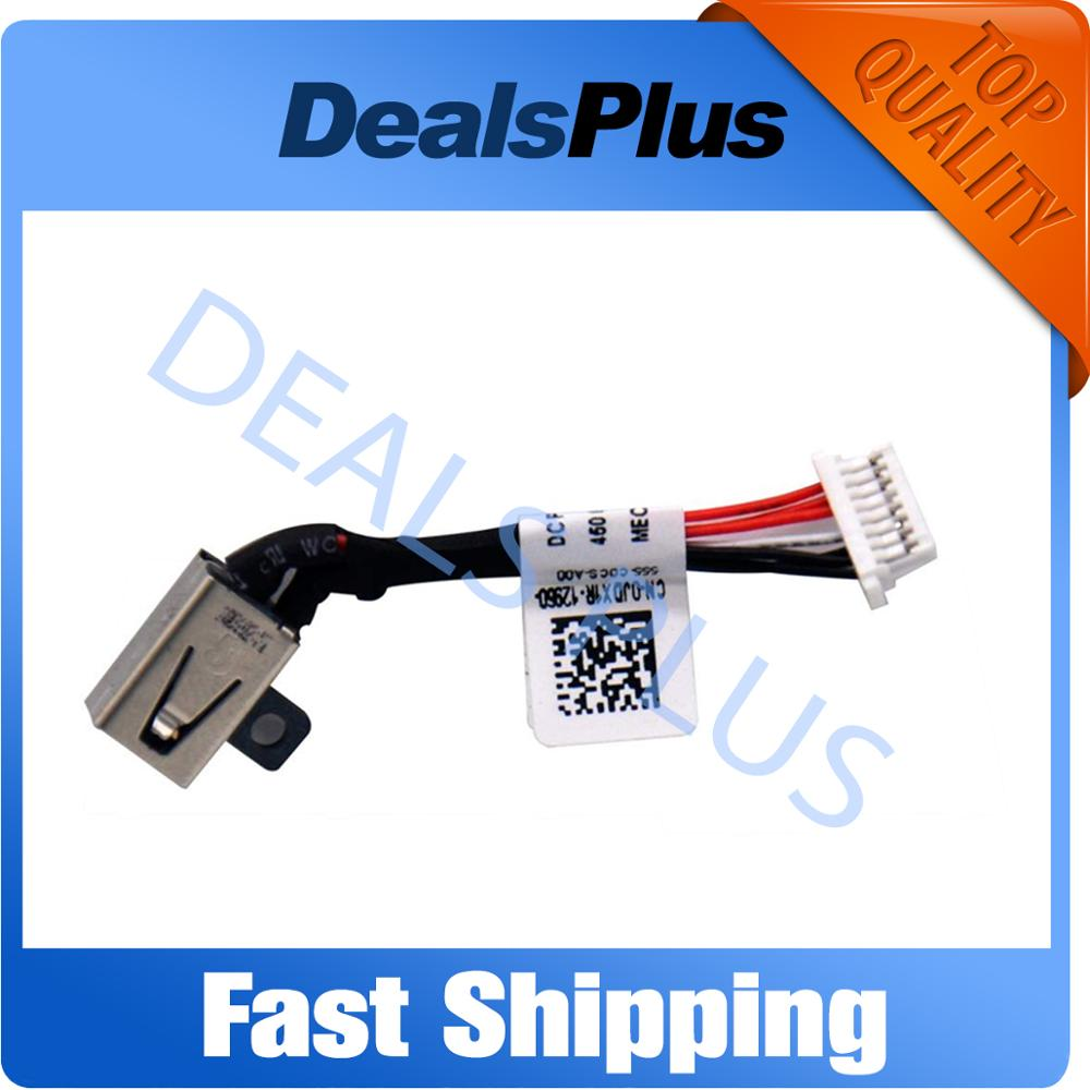 New DC Power Jack With Cable Socket For Dell Inspiron 11 3000 Series 3148 JDX1R 13-7347 13-7348 13-7352 13-7359 P57G 13-7000