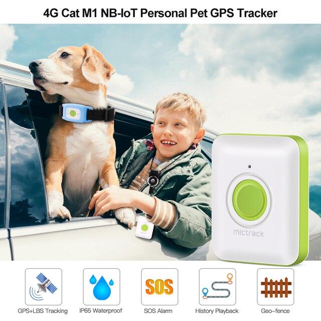 Mini GPS Tracker For Dogs - Children - Kittens 4G LTE SOS Waterproof WIFI Listening Device  2
