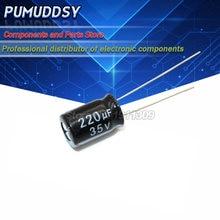 20 шт Высокое качество 35v220uf 8*12 мм 220 мкФ 35v электролитический