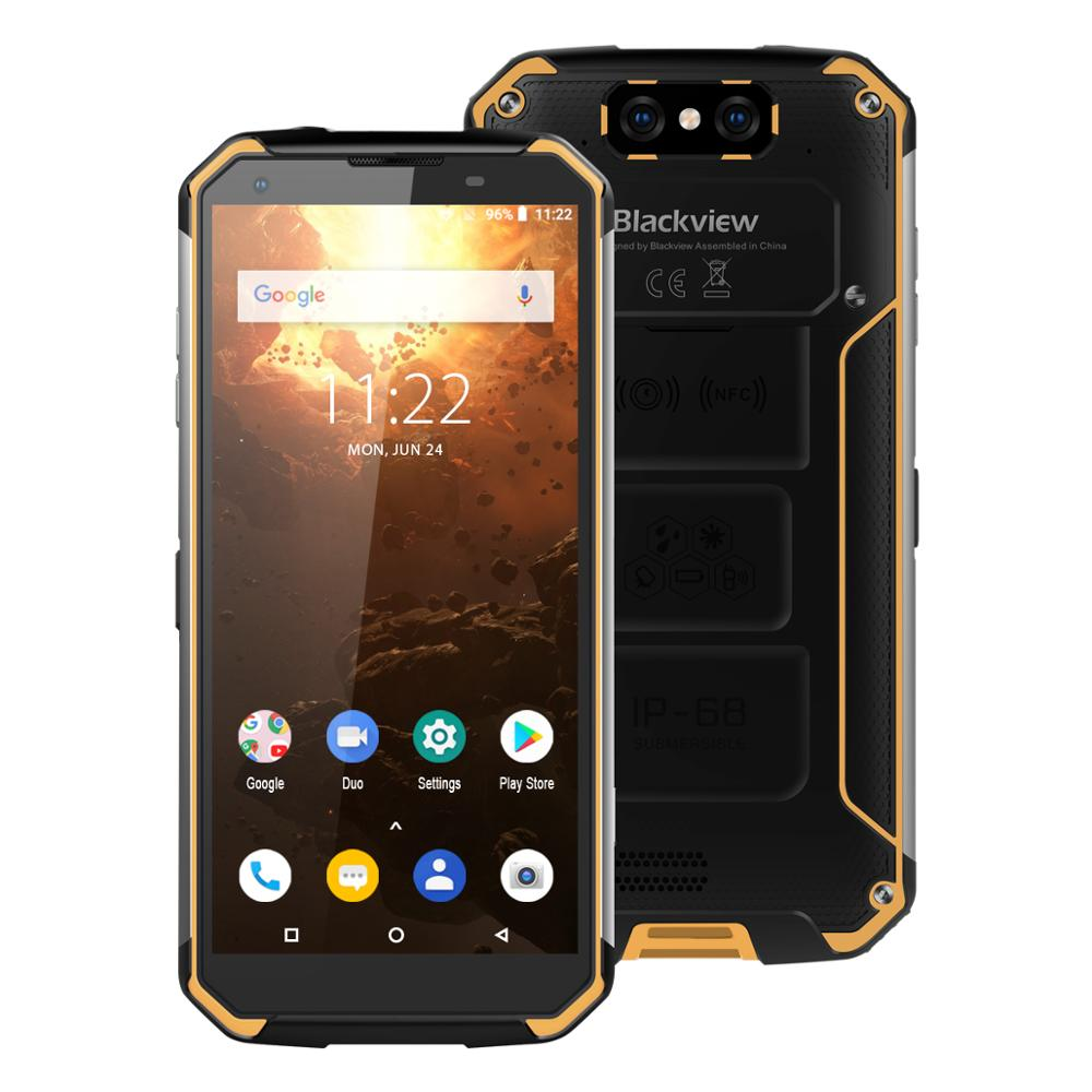 """Blackview BV9500 Plus 4GB+64GB 5.7"""" Rugged Smartphone Helio P70 IP68 Waterproof Android 9.0 Fingerprint Outdoor 4G Mobile Phone(China)"""