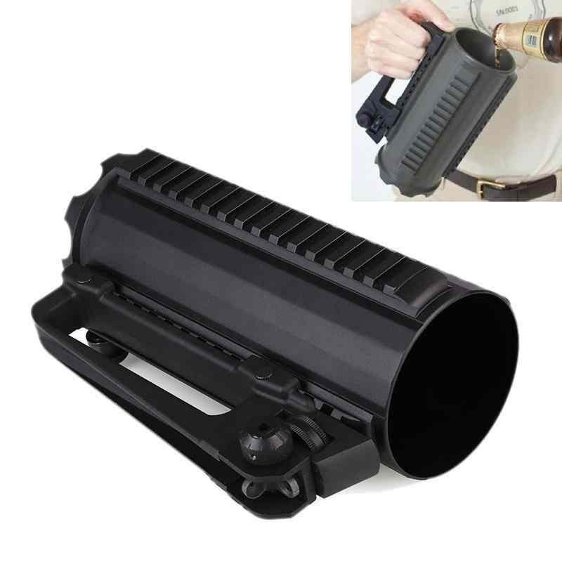 Tactical Rail Battle Bier Mok Cup Aluminium Camping Militaire Multi Functie Carry Cup Handvat Afneembare Koffie Drinken Tool