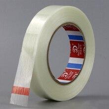 50 м* 5/10/15 мм сильный Стекловолоконная лента прозрачный полосатый односторонняя липкая лента
