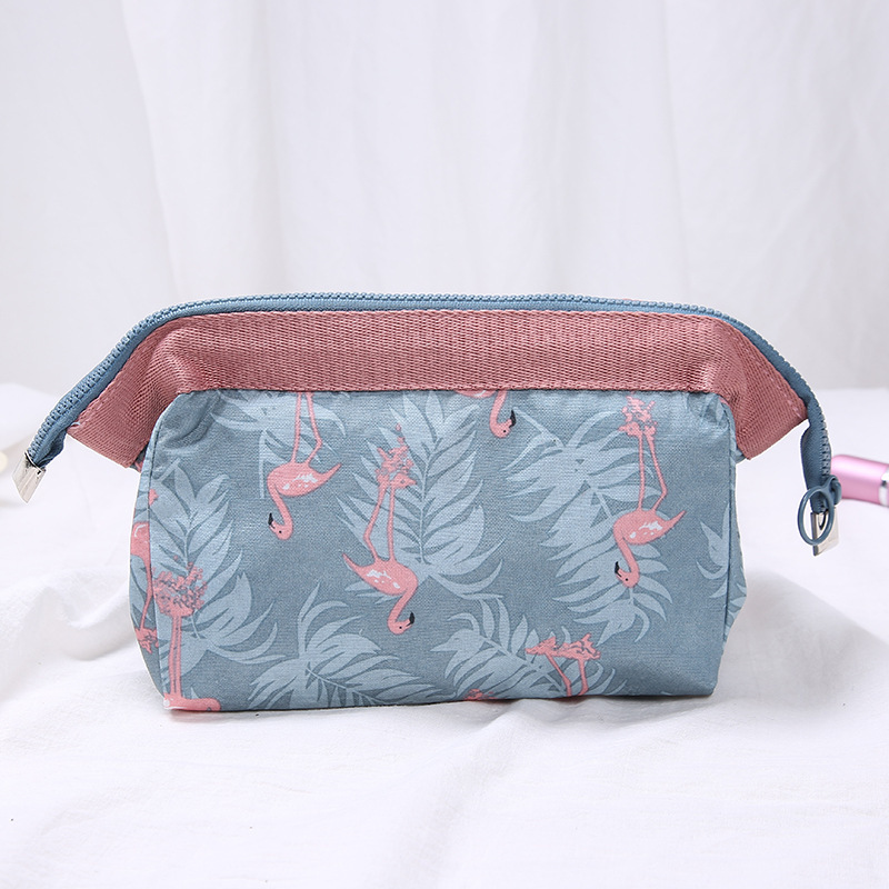 Travel Animal Flamingo Make Up Bags Cosmetic Bag Wash Organizer Toiletry Girl Pouch Makeup Beauty Women Storage Kit Bath Case