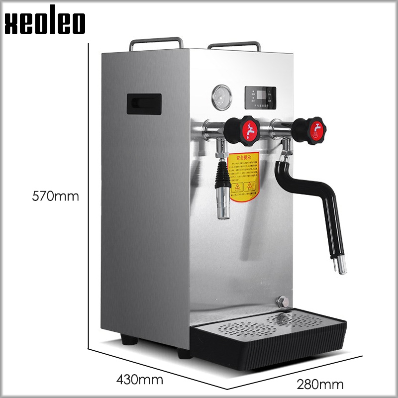 XEOLEO Boiling Water Machine Milk Bubble Machine 8L/12L Steamer Water Boiler Tea Shop Commercial Equipment Machine Coffee Maker