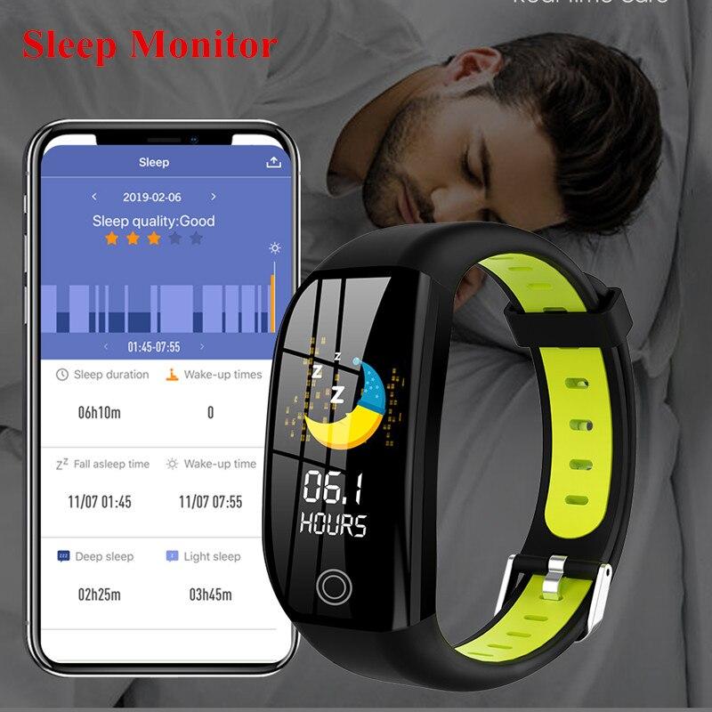 F21 Smart Bracelet GPS Distance Fitness Activity Tracker IP68 Waterproof Blood Pressure Watch Sleep Monitor Smart F21 Smart Bracelet GPS Distance Fitness Activity Tracker IP68 Waterproof Blood Pressure Watch Sleep Monitor Smart Band Wristband