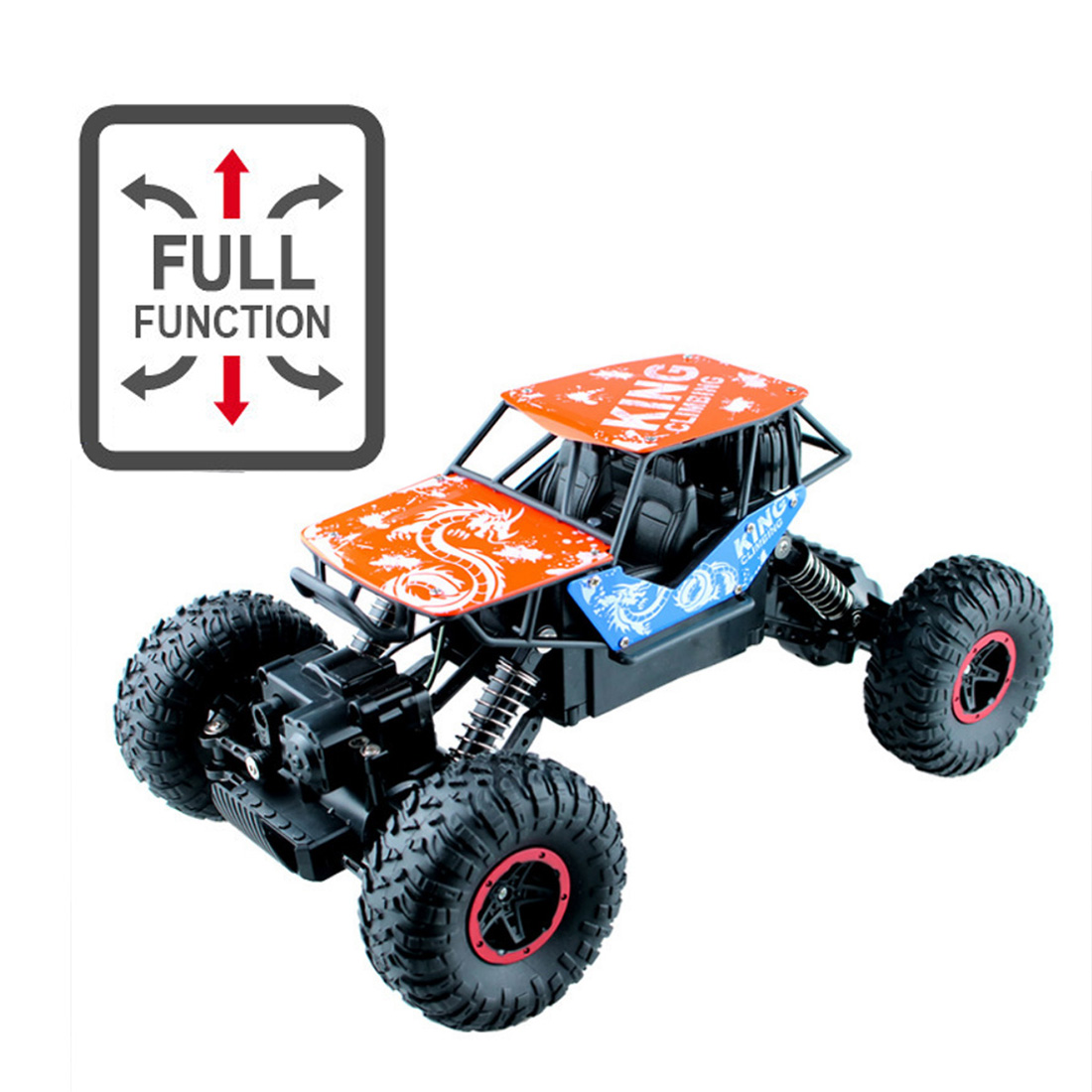 Feichao RC Car Radio Control 2.4GHz 4WD 1:16 Toys Remote Control Car Off-Road Vehicle Climbing TrucksToys for Child image