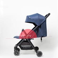 цена на High Landscape Baby Stroller 3 in 1 Shock Absorption Suspension Pink Stroller Portable Baby Trolley Traveling Pram Baby Trolley