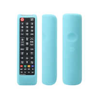 Protective Case Accessories TV Removable Remote Control Cover Dustproof Protector Durable Silicone Soft Solid Home For Samsung
