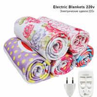Elektrische Decke 220V Automatische Elektrische Heizung Thermostat Decke Doppel Körper Wärmer Bett Matratze Elektrisch Beheizt Teppich