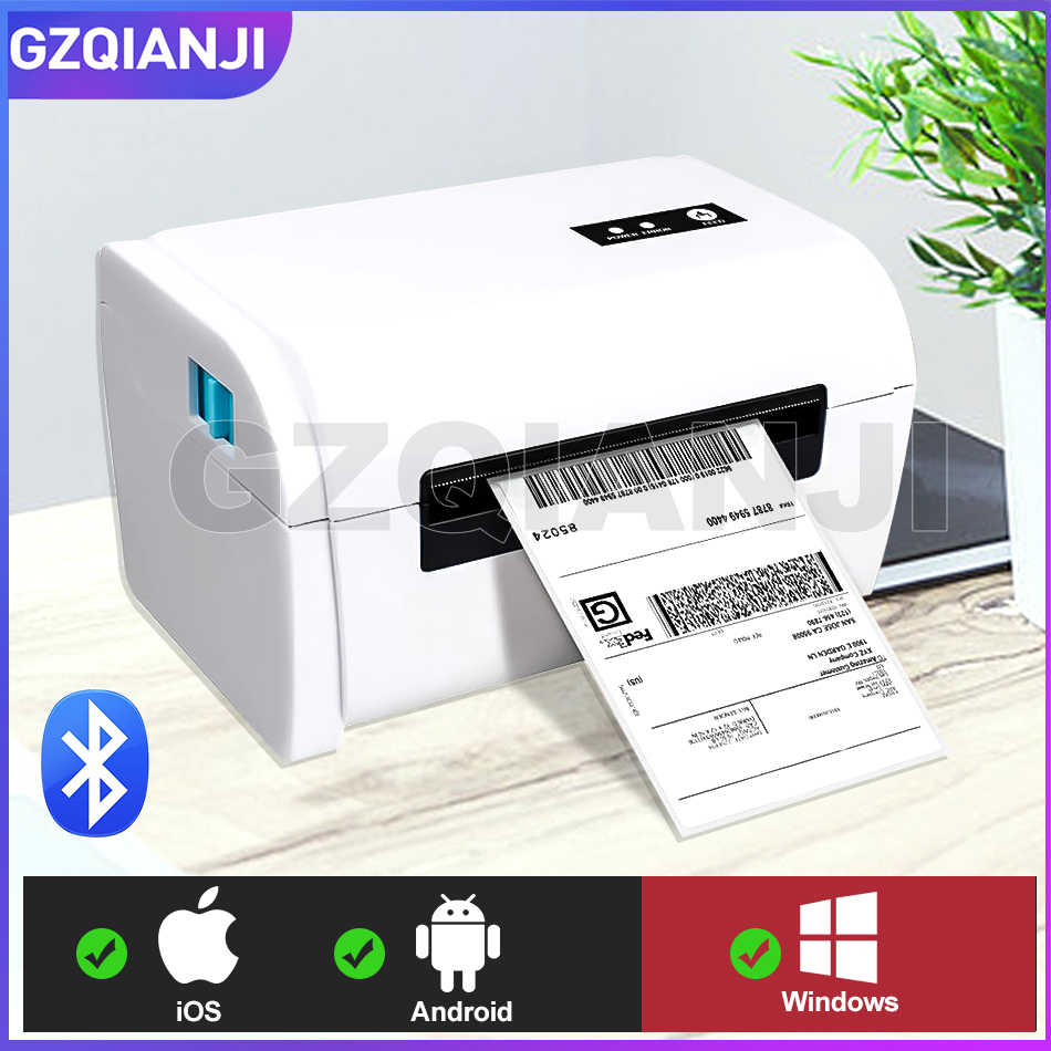 4 Inch Thermal Printer Barcode Label Printer Pengiriman Label Printer 100*100 / 100*150 UPS DHL Fedex pengiriman Express Label Cetak