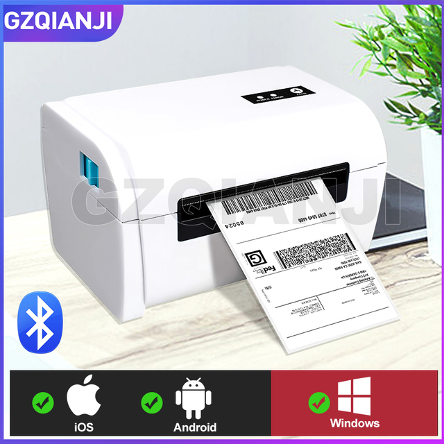 4 inch Thermal Barcode Printer Label Printer Shipping Lable Printer 100*100 / 100*150 UPS DHL Fedex Shipping Express Lable Print