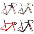 Новое поступление 10 велосипедная Рама из углеродного волокна для воздушной дороги  велосипедная Рама с вилкой  зажим  подседельный штырь  к...