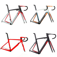 New arrival 10 air road carbon fiber cycling frame road bike frame fork clamp seatpost ALABARD Carbon handlebar spacer