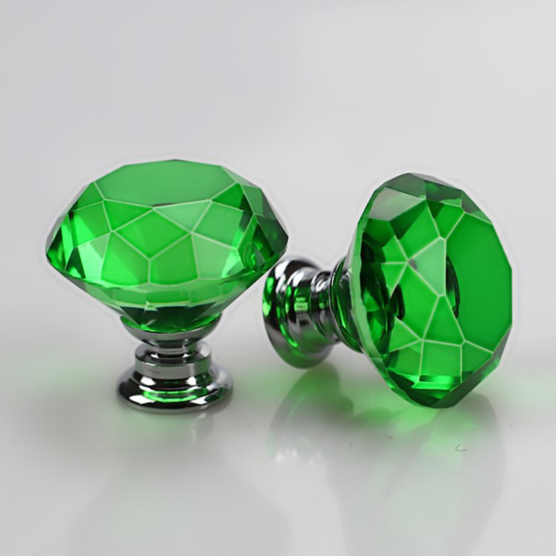 Ручки для шкафа в форме бриллианта