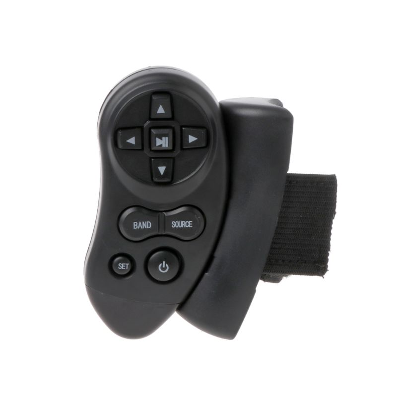 NoEnName_Null Universal Steering Wheel Learning Bluetooth Remote Control For Car CD DVD VCD