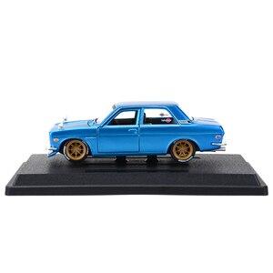 Image 5 - Maisto 1:24 Nissan 1971 Datsun 510 samochód sportowy statyczny odlew pojazdów Model kolekcjonerski samochody zabawkowe