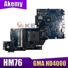 Абсолютно новая материнская плата AKEMY для ноутбука Toshiba Satellite L870 L875 Intel HM76 GMA HD4000 DDR3 разъем PGA989 H000038240