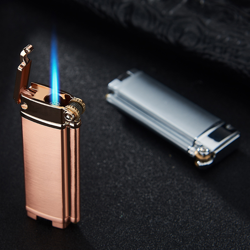 Metal Mini Gas Lighter Torch Turbo Lighter Cigar Cigarettes Lighter Electronic Lighters Smoking Accessories Gadgets For Men
