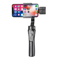 Hot Smooth Smart Telefoon Stabiliserende H4 Houder Houvast Gimbal Stabilizer voor Iphone Samsung & Action Camera