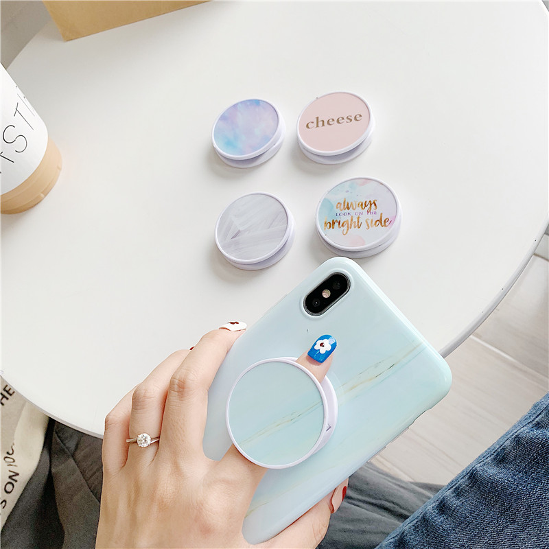 Universal Mobile Phone Bracket Cute 3D Cartoon Animal Airbag Phone Expanding Stand Finger Holder Rabbit Bear Phone Holder Stand