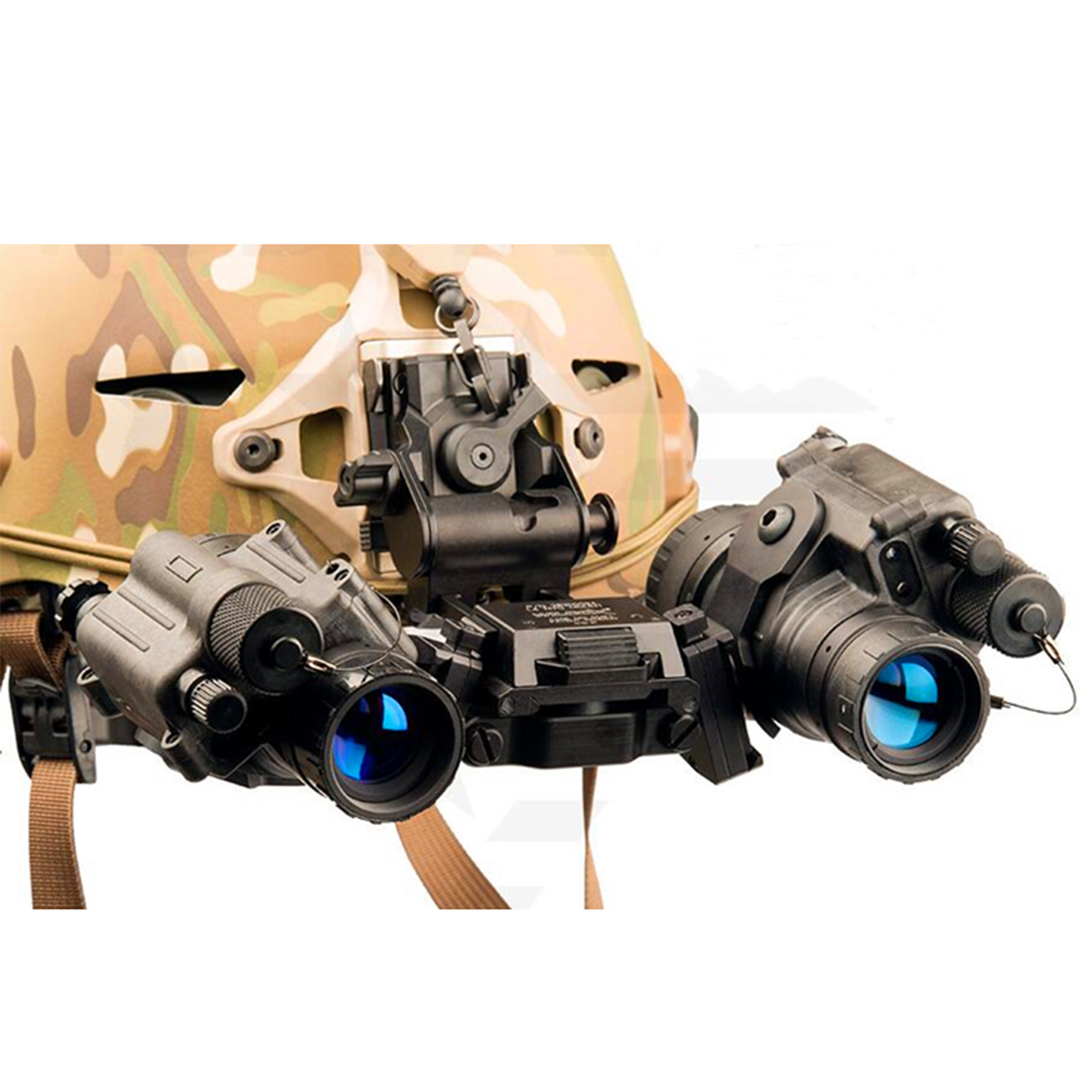 AN/PVS-14 Dual Bracket Holder for Binocular Night-vision (Full Set of Shell, Not Included Image Intensifier Tube)