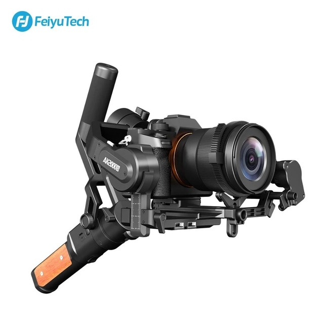 FeiyuTech AK2000S Camera Stabilizer 3 Axis Gimbal DSLR Mirrorless Handheld Video Gimbal Fit For Canon Sony Nikon Camera AK2000C 2