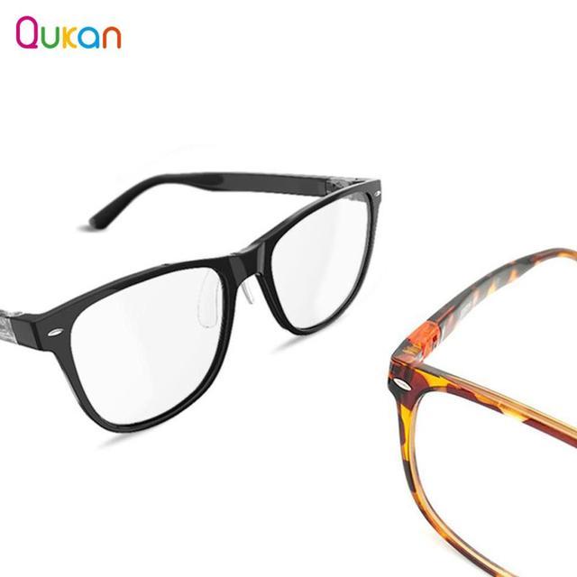 Qukan W1/B1 Abnehmbare Anti blau rays Schutz Glas Eye Protector Spielen Telefon/Computer/Spiele für Mann Frau