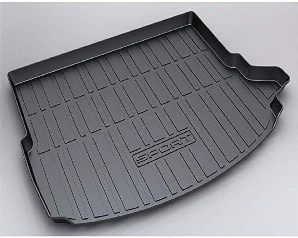 XEILK véhicule arrière Cargo Liner coffre plateau tapis de sol pour Land Rover Discovery Sport (5 places) 2015-2019