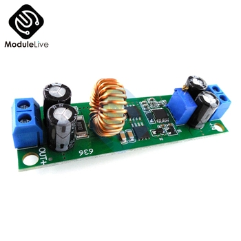 Car Charger Power Supply DC-DC 6.5V-60V to 1.25V-30V 10A Adjustable Step Down Buck Converter Power Voltage Regulator Module image