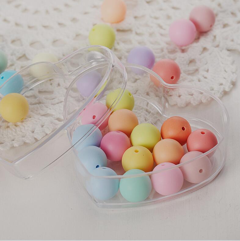 12 pièces de qualité alimentaire clair coeur en plastique boîte à bonbons Transparent faveurs de mariage et cadeaux de mariage boîte à bonbons événement fête fournitures
