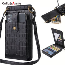Brand Designer Small Shoulder Phone Bag Women's Stone Patter Pu Leather Female Mini Crossbody Messenger Bags Ladies Wallet Purse