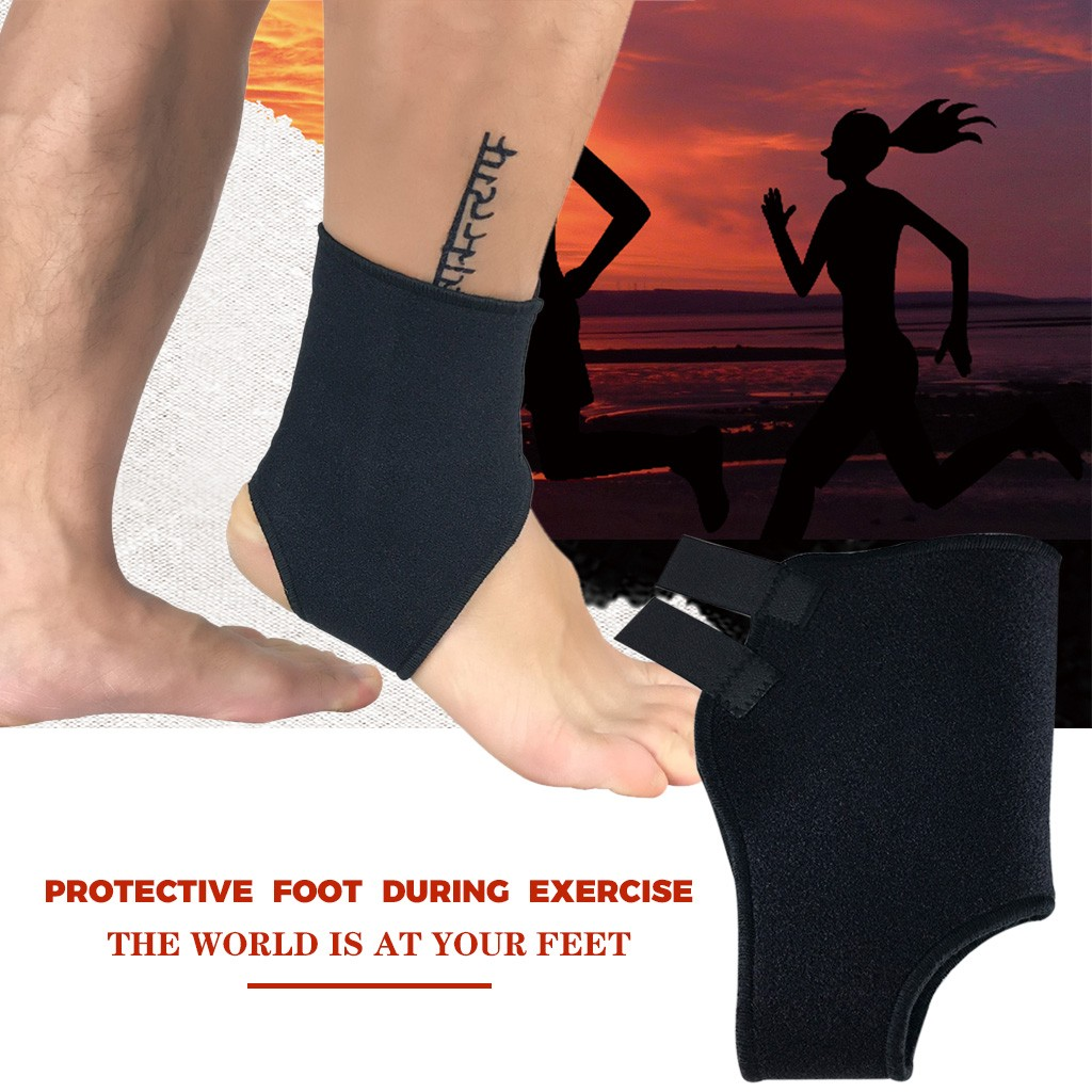 Adjustable Elastic Ankle Brace Support Basketball Sports Protector Foot Wrap ankle support Protector  Volleyball Foot warmer